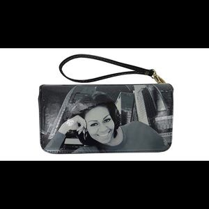 Handbags - Michelle Obama Picture Style Wallet/Wristlet